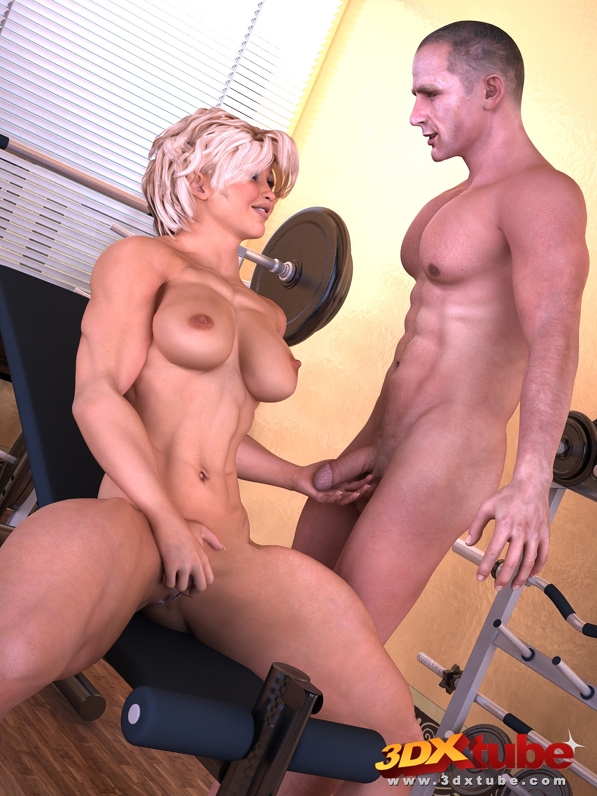 3d sex woman art big bodybuilding hentay image