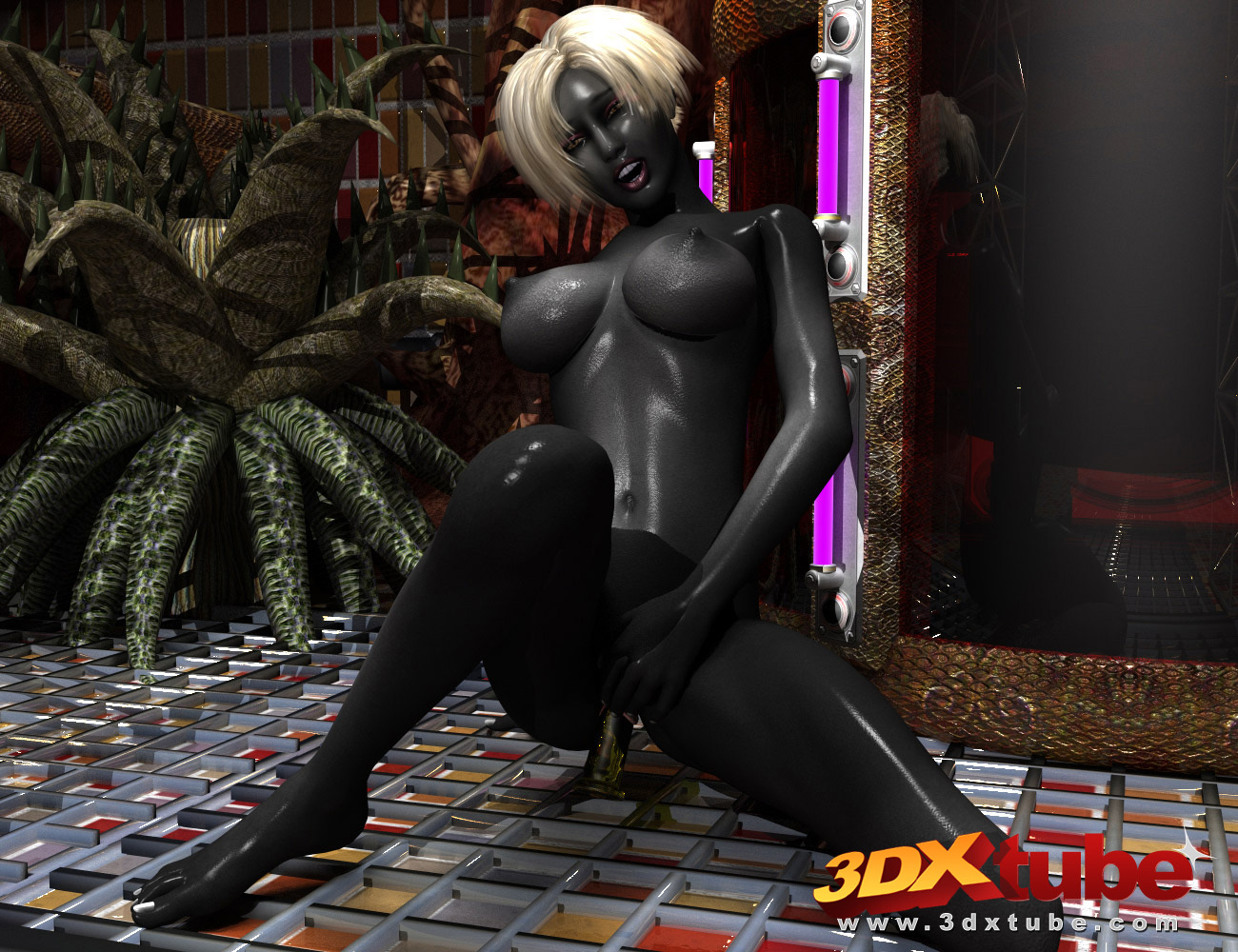 3d naked alien babes softcore streaming