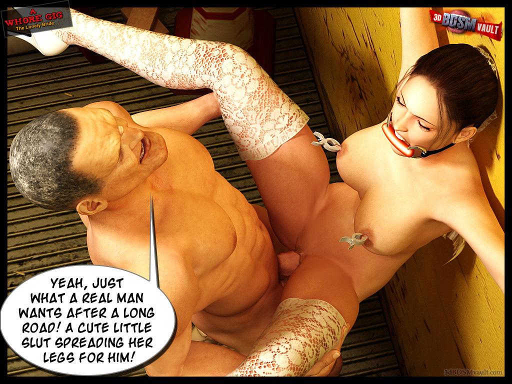 Bride slut spreading hot nude