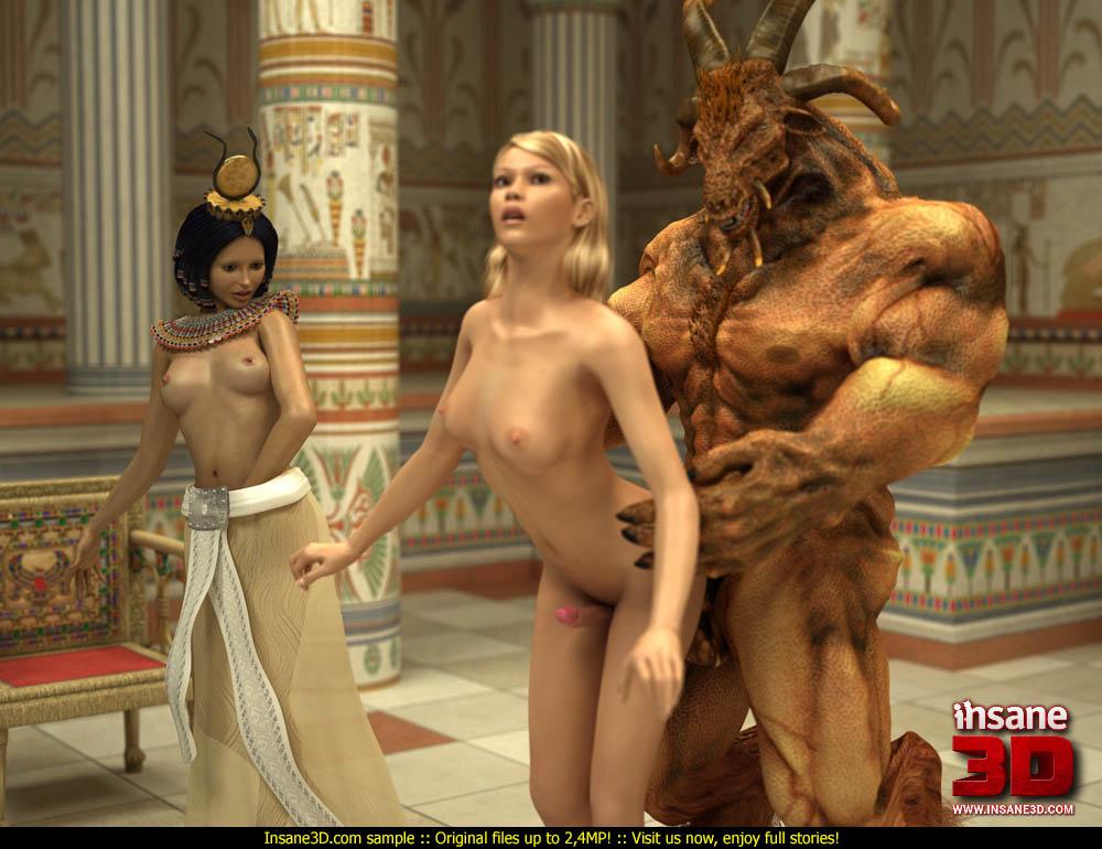 Фараон Ебёт Наложниц Видео