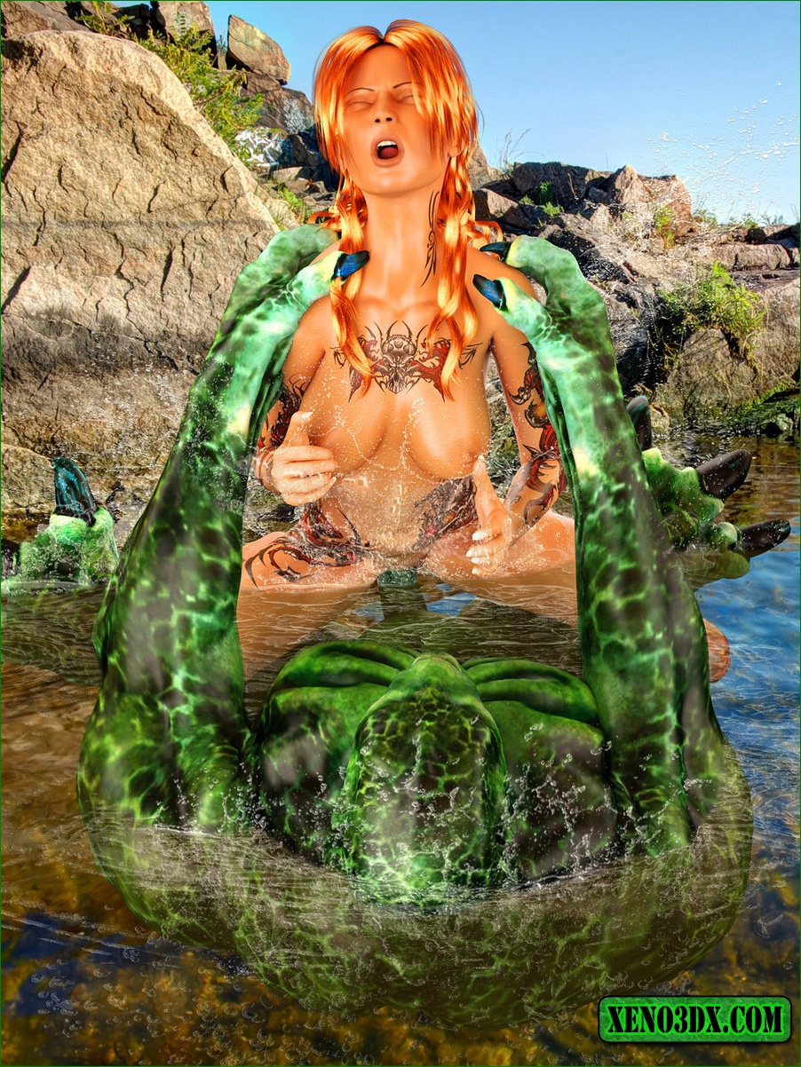 3d swamp sex thumbs pornos photo