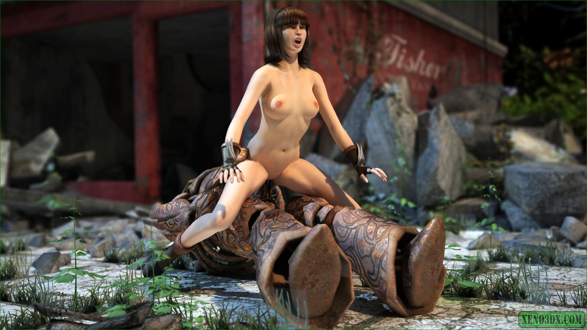 3d monster spicyhunt pics naked picture
