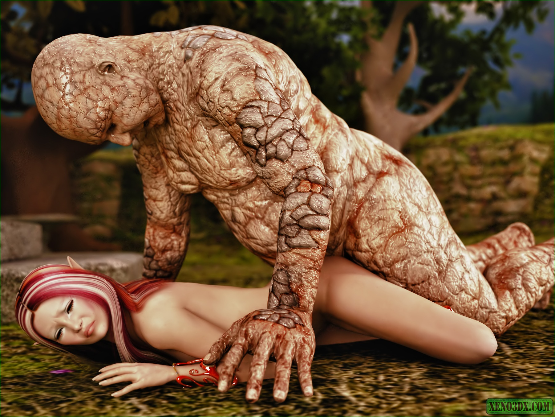Monster vs girl 3d henti pics pornos gallery