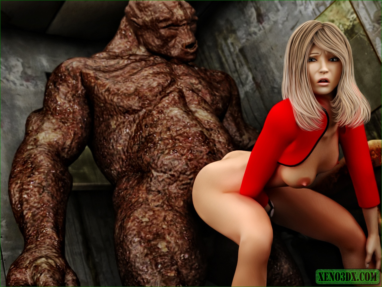 Monster fuking girl naked clip